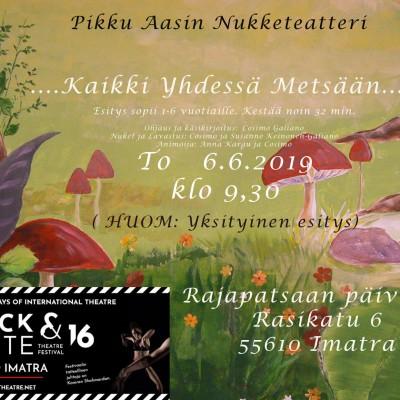 KAIKKI YHDESSÄ juliste 6-6-2019IMATRA
