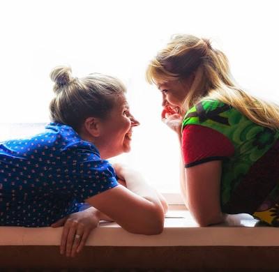 Minna_ja_Pirja.jpg, kuva Marita Räsänen